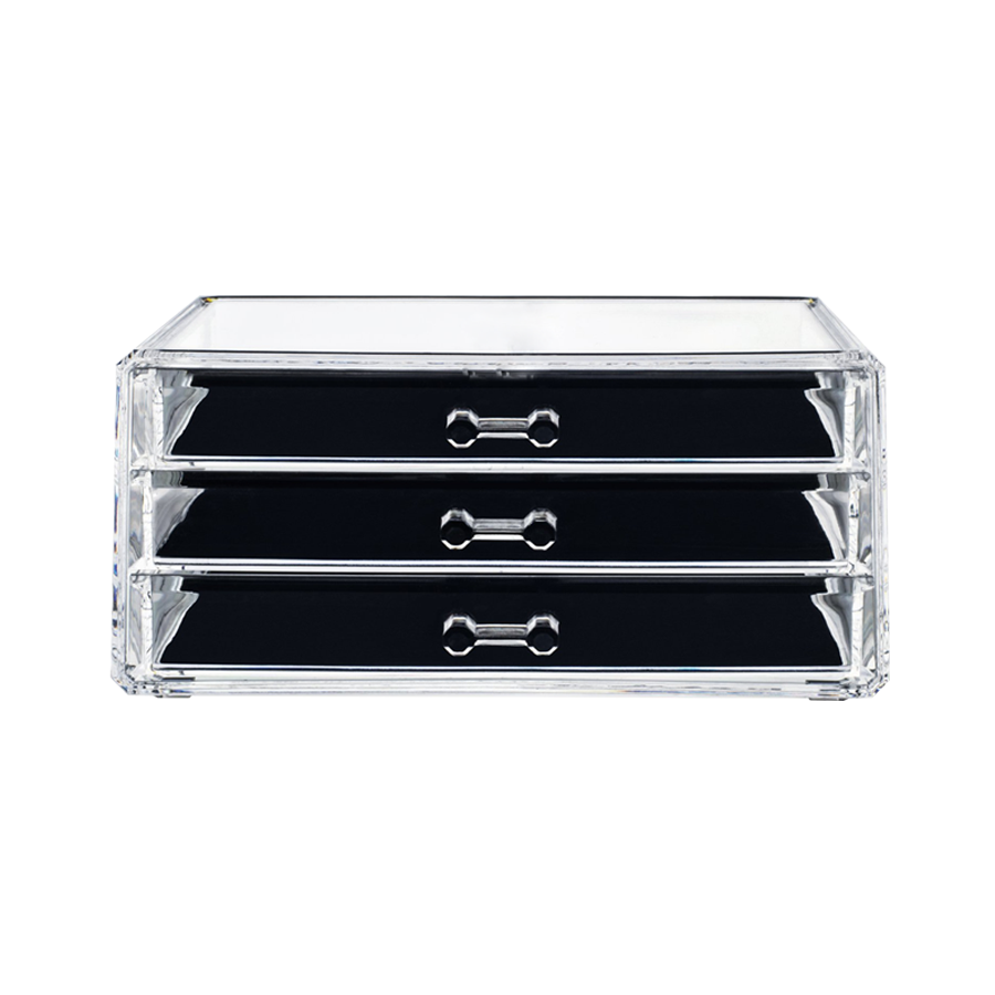 TL-2368A 3drawer Acrylic Cosmetic Organizer