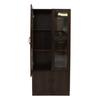 Toby Display Cabinet - Brown