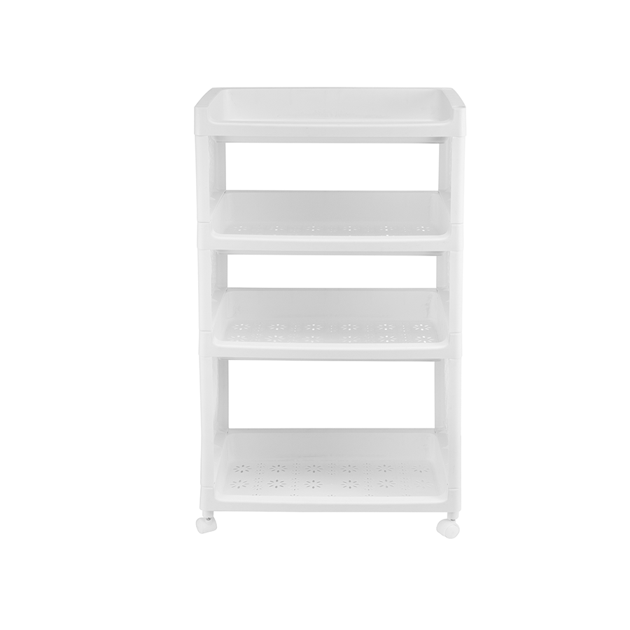 Tariq 4 Layer Plastic Storage Rack