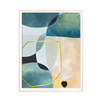 Vk95103 Wall Frame Geometric Abstract