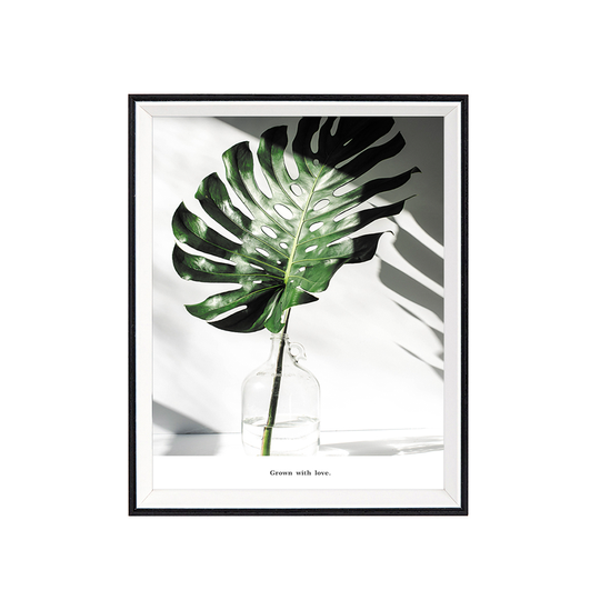 Vp94199er Wall Frame Palm Leaf