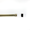 WL-A-01Glass décor Ant brass rod 44-84""