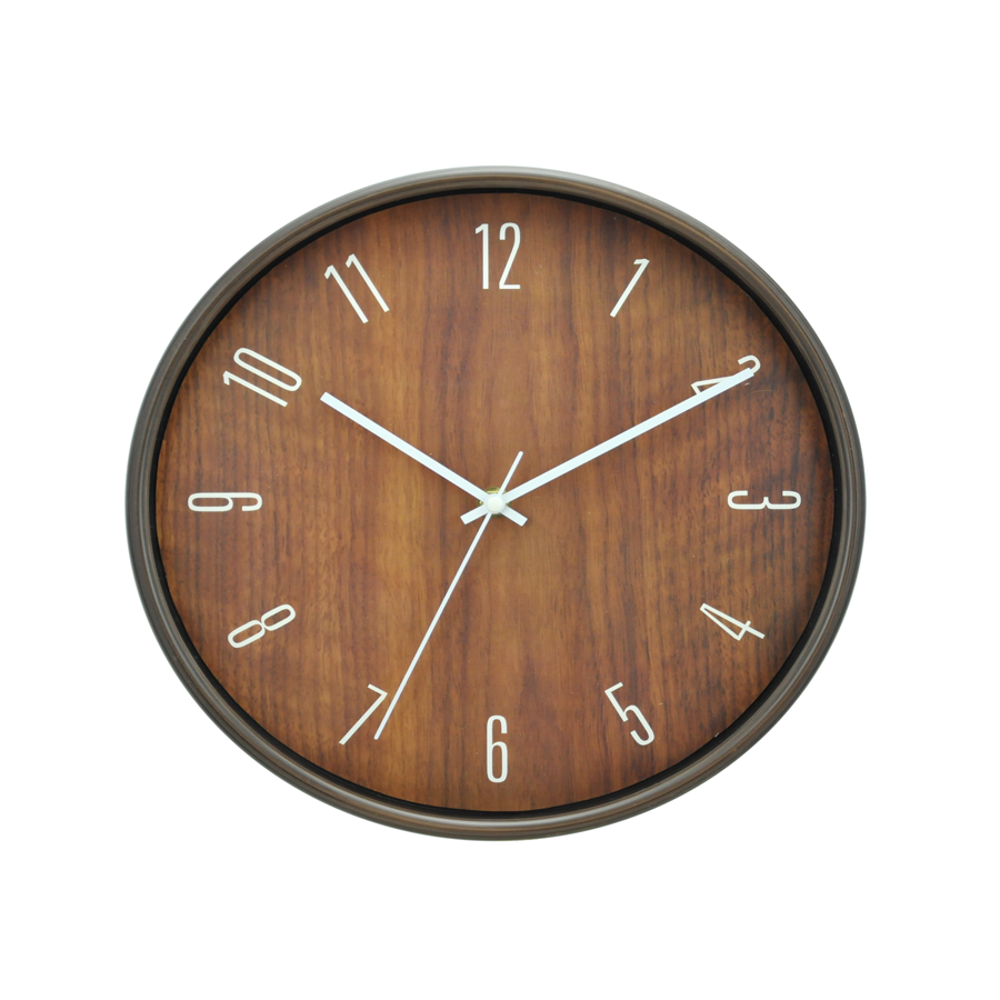 Wood Plastic Wall Clock 6911D-M1