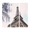 WT17-EP0008-ABC Eiffel Tower Set of 3