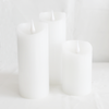 Wax Candle Led 16cm 3/set