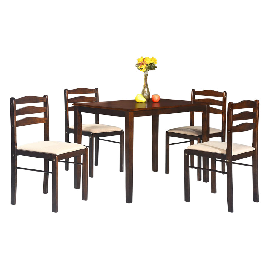 West Starter 4 Seater Dining Set
