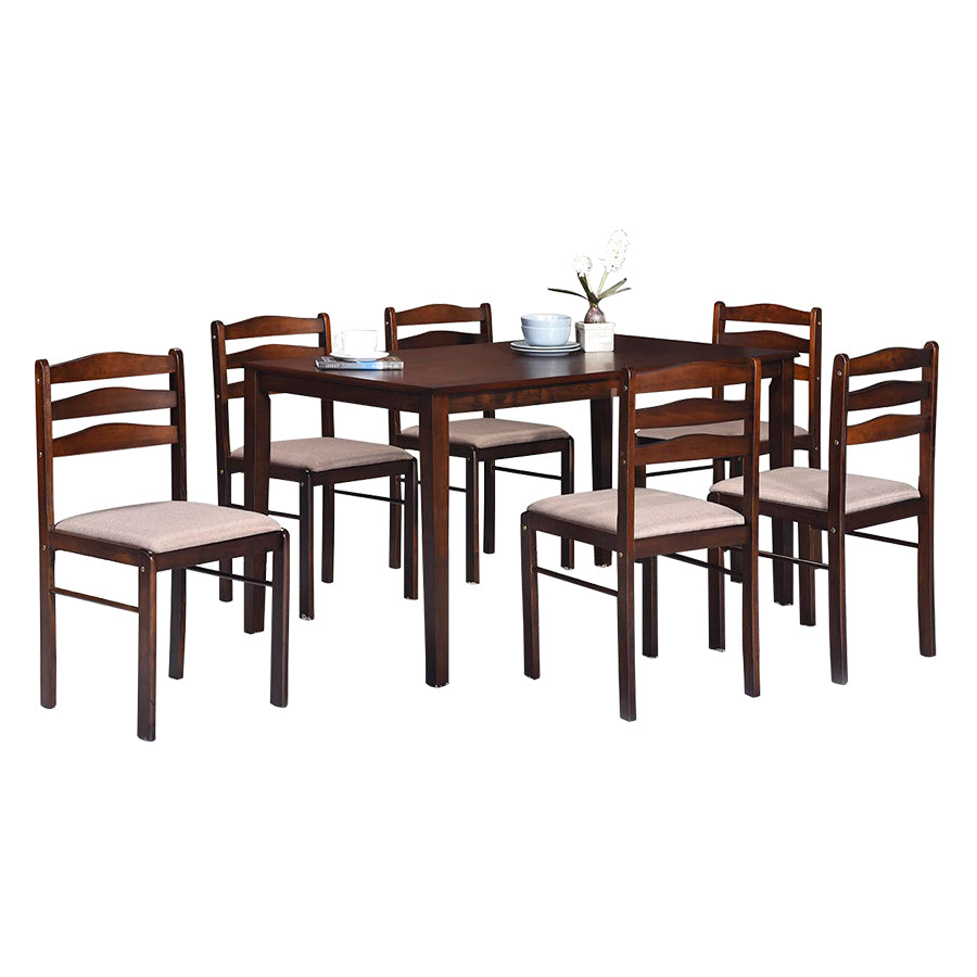West Starter 6 Seater Dining Set