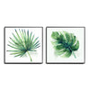 Wt17- Tropical Leaves Set of 2