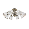 X-36695-8 Glass Ceiling Lamp