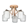 X-61352-5 Glass Ceiling Lamp