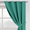 YW-B001 Blue Green Embossed Blackout 54x95""