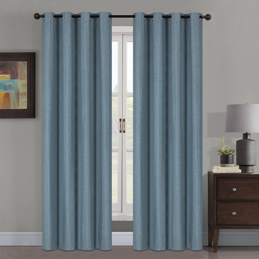 YW-B19153 Linen Full Blackout 54x85