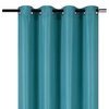 "YW-PA-7039 Blue-Green Grommet Curtain 54""x72"""