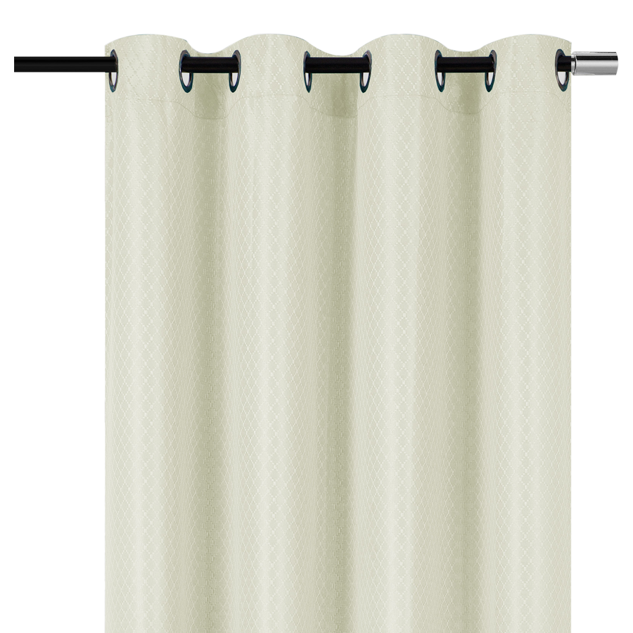 "YW-PA-7039 Cream Grommet Curtain 54""x72"""