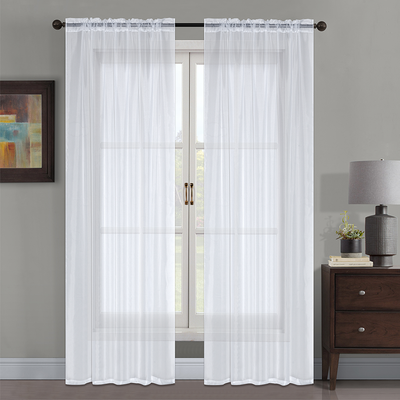 "YW-PA-7172 Voile Rod Pocket Curtain 54""x95"""