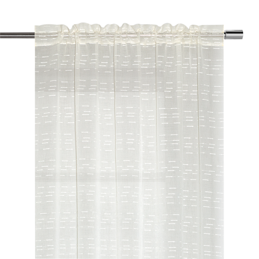 YW-S54 Jacquard Sheer Rod Pocket 54 X 85""""