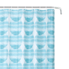 YW-SC-404 Peva Shower Curtain - Blue Green