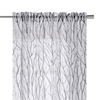 YW-VL07 Grey Tree Branches Voile 54 X 95""