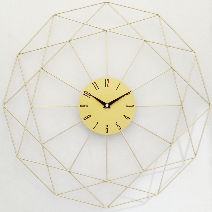 Ygz5206 Metal Wall Clock 49.5cm