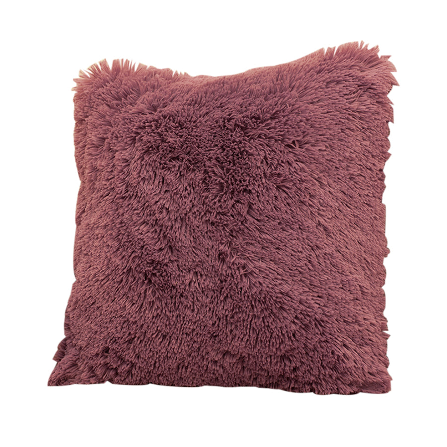 Pink Short Mongolian Fur Case
