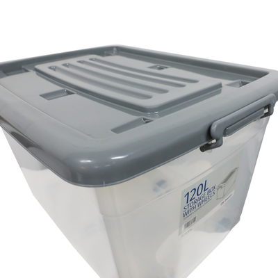 Zg-338 Storage Box with Wheels 120l