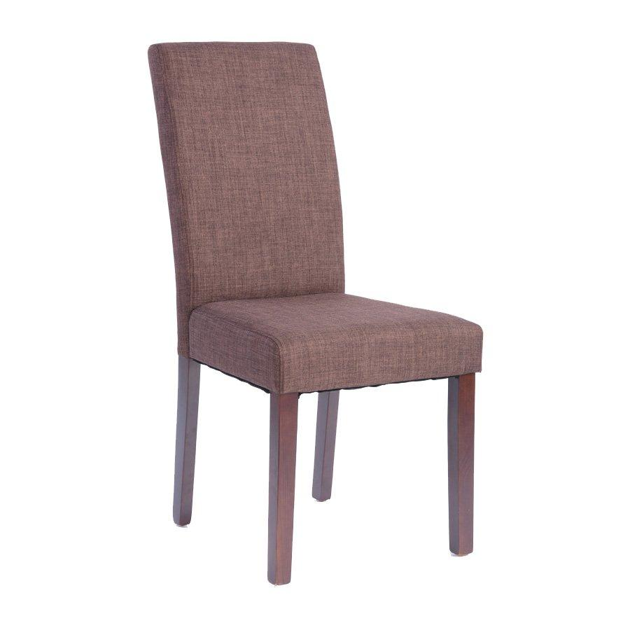 MEE UPHOLSTERED CHAIR ONLY- BROWN