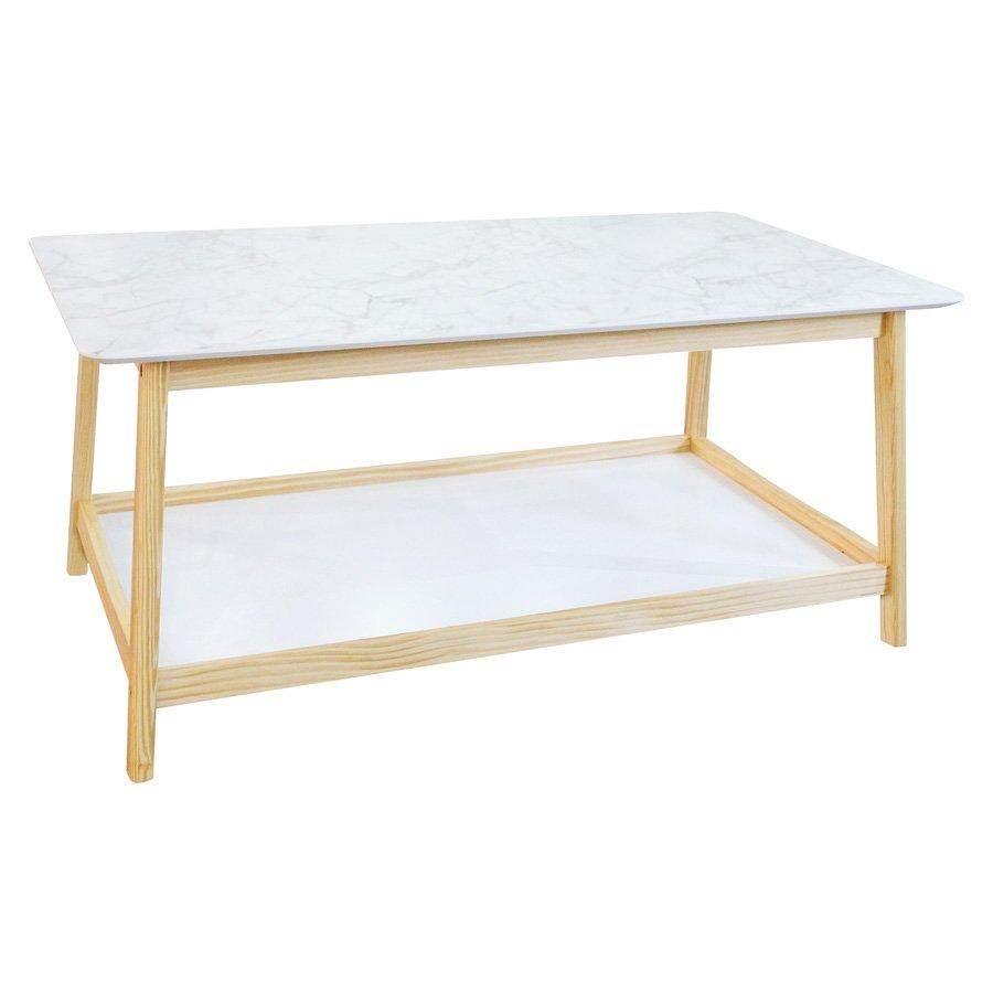 Gustov Coffee Table - Marble Pattern