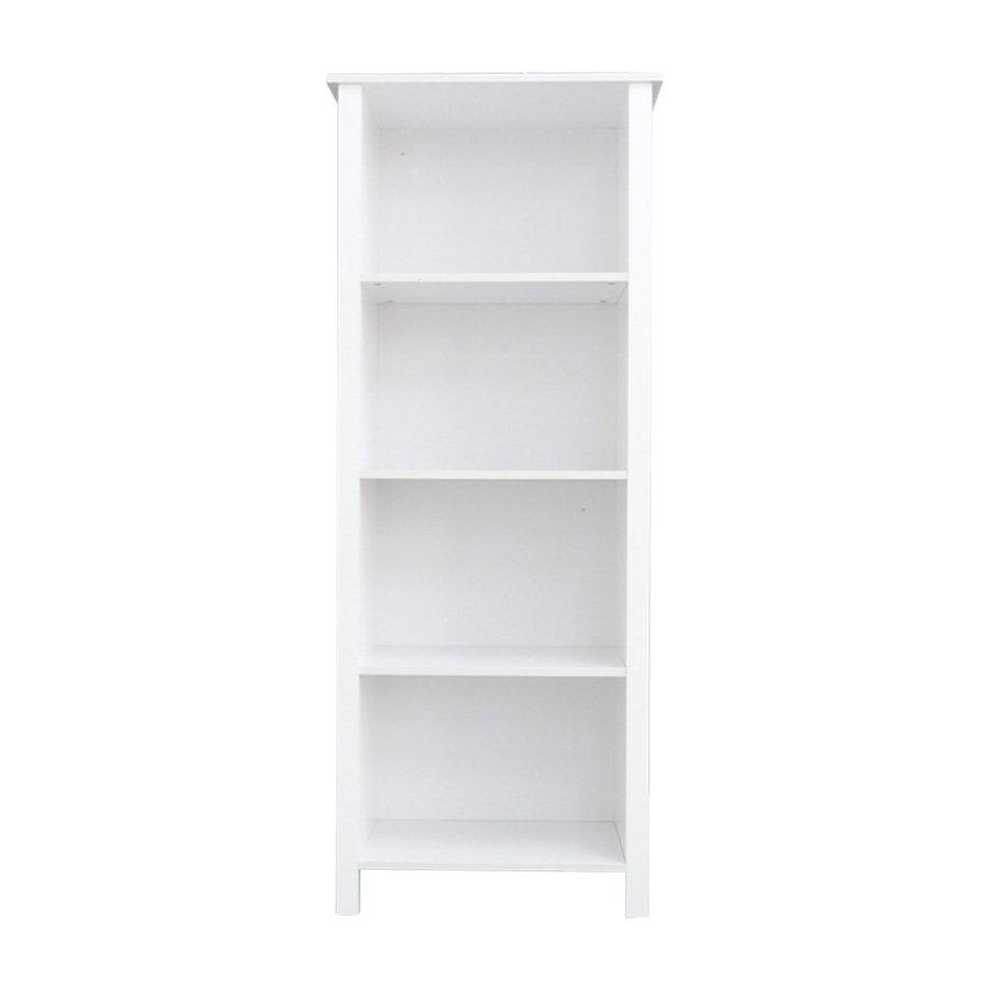 HTC-8022 MOORE BOOKCASE - HIGLOSS WHITE