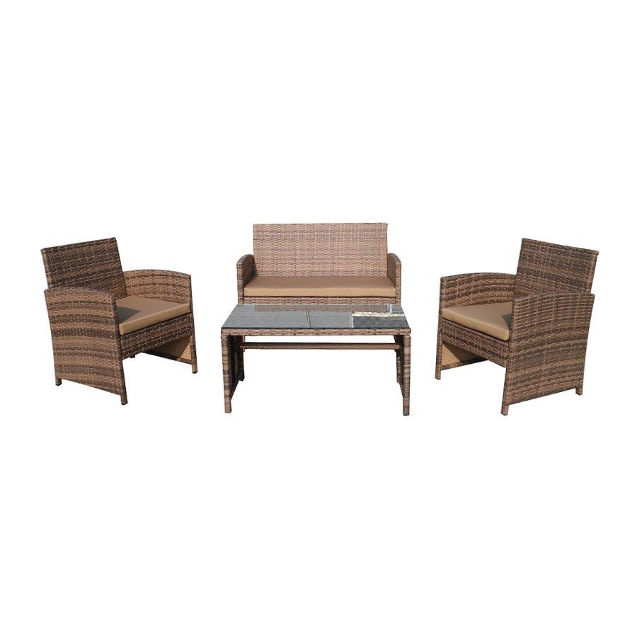 Grant Outdoor Sofa Set - Latte