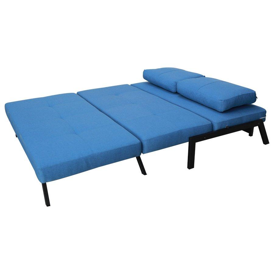 Houston Sofa Bed - Classic Liner Blue