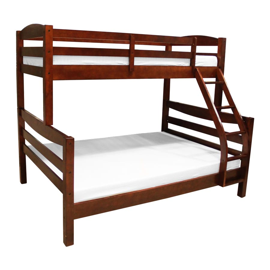 Alisa Bunk Bed - Walnut