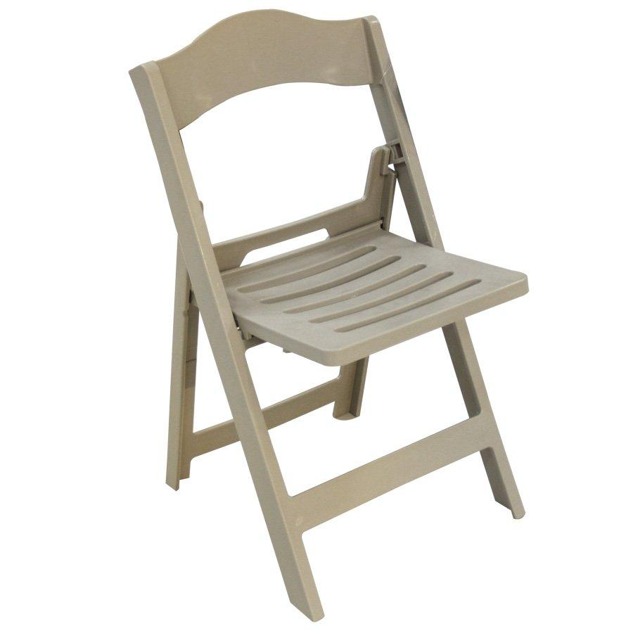 HXC-805 KYLEE PLASTIC FOLDING CHAIR-GRAY