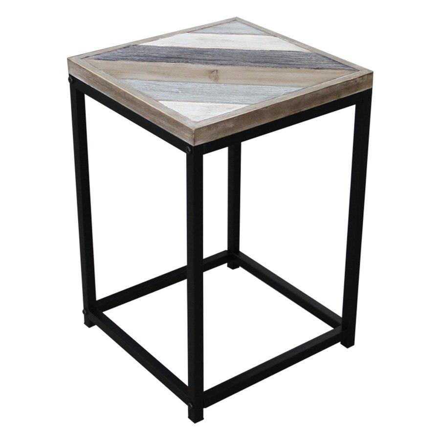 Corbett Side Table - Printed - Mandaue Foam