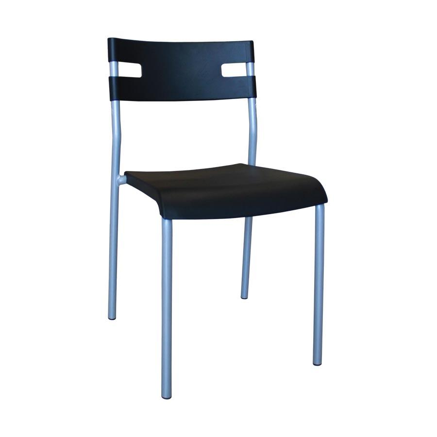 Amir PP Chair - Black - Mandaue Foam