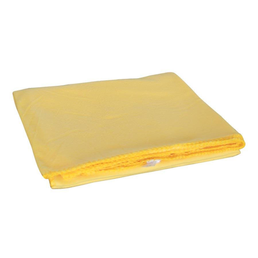 PF02S/1351 Plain Yellow Polar Fleece Blanket