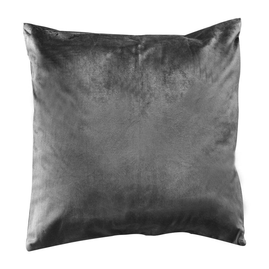R0037-H1399-1 Dk. grey Holand throw pillow case only 43x43cm