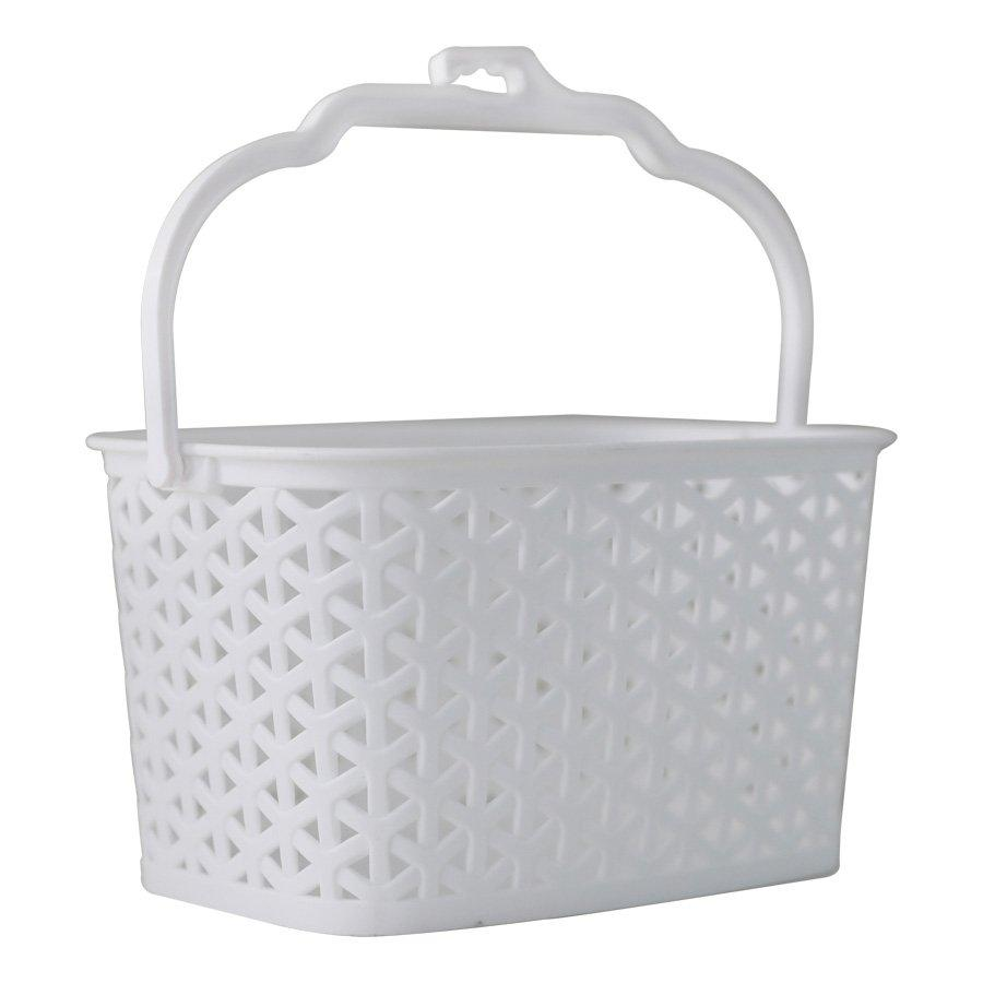 9011 Utility Basket With Handle - White
