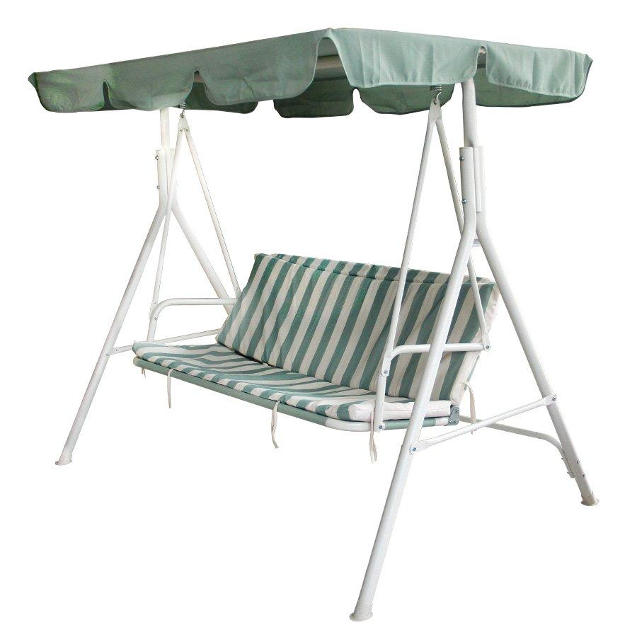 Rily Outdoor Swing - Stripe Green
