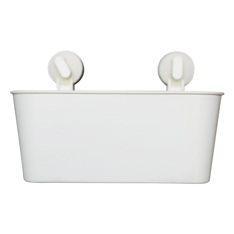 7019 Shower Caddy/ Power Suction- White - Mandaue Foam