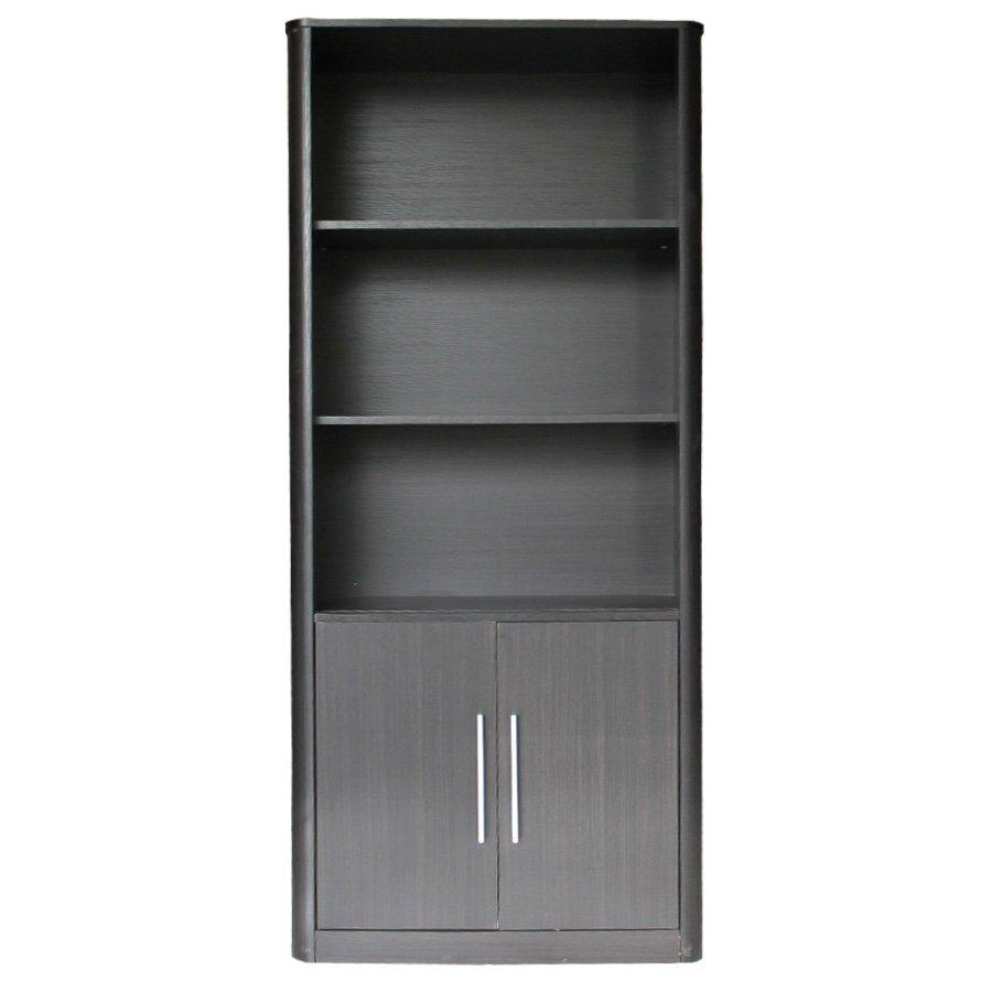 Carlingford Bookcase - Espresso - Mandaue Foam