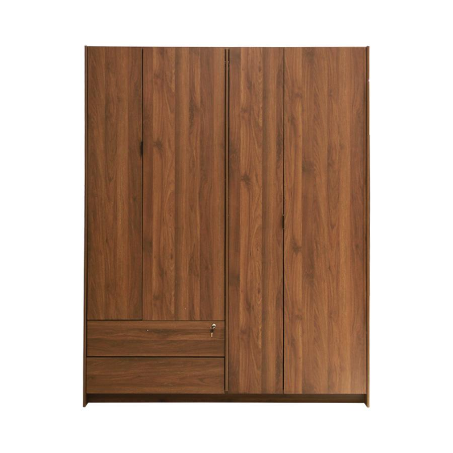 Revere 4 Door Wardrobe - Columbia