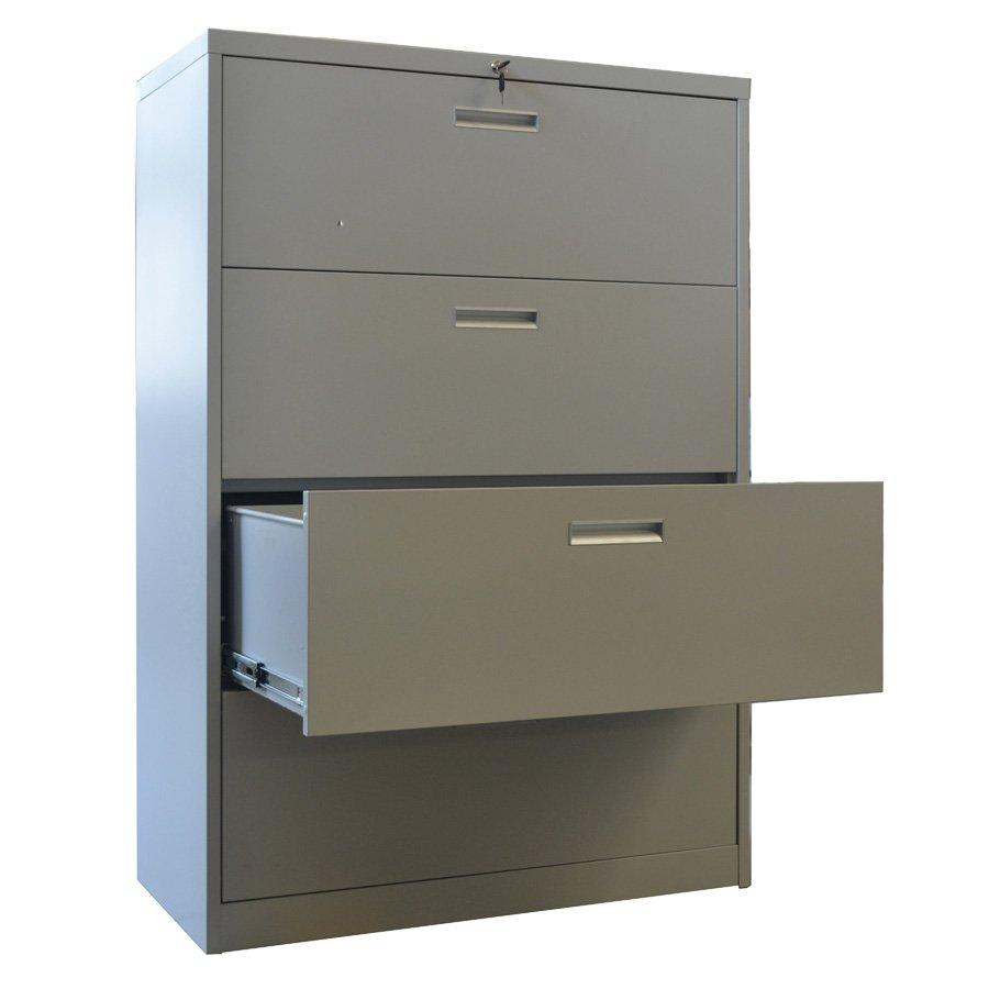 Alex Lateral 4 Drawer Cabinet