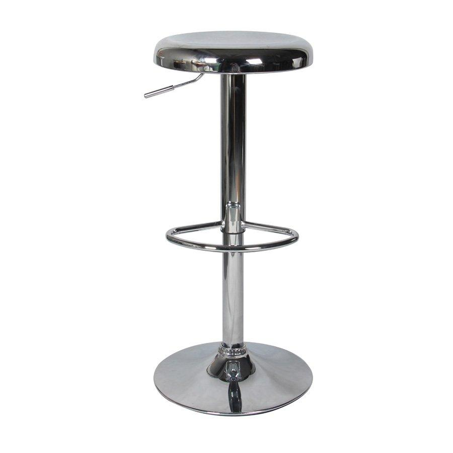 Bo Bar Stool - Chrome - Mandaue Foam