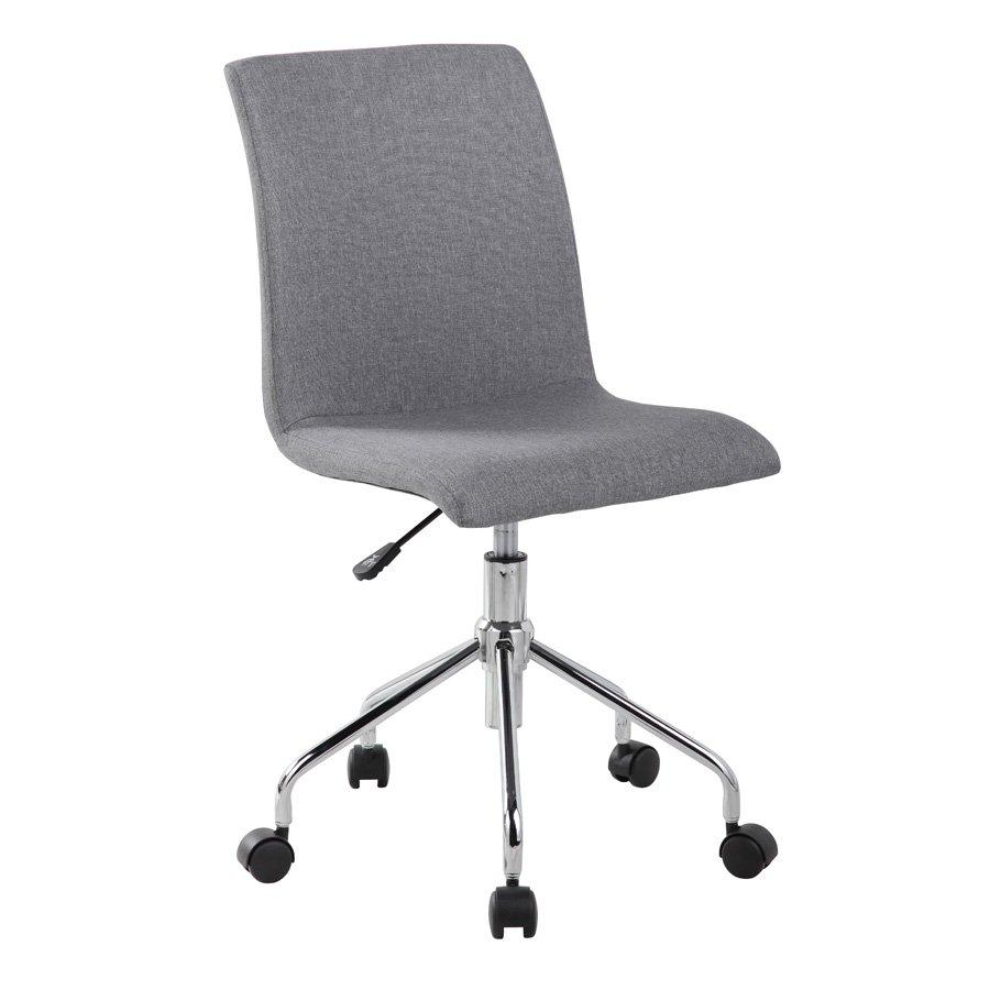 1046 LANE LOW BACK OFFICE CHAIR-LIGHT GRAY