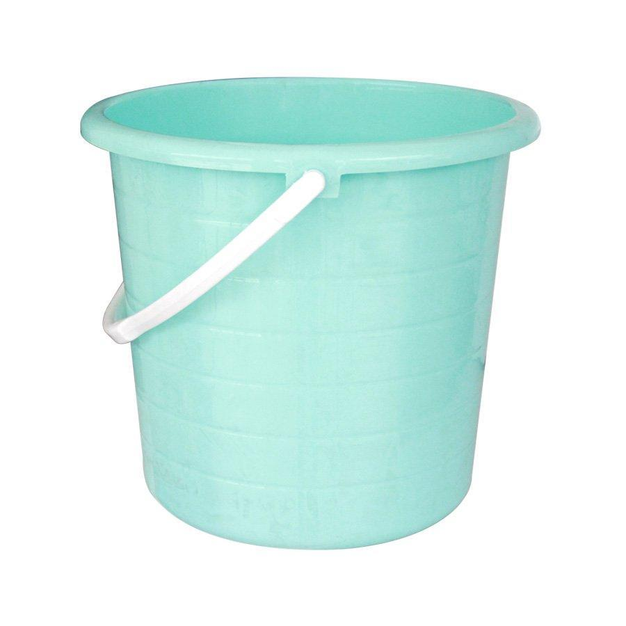 BU260  Basics Pail Without Lid - Blue+ White