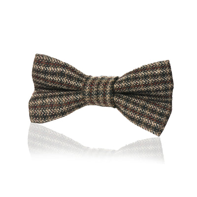 Tweed Fliege Dark Houndstooth