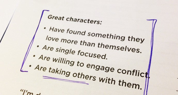 Characteristics of a Greaty Story
