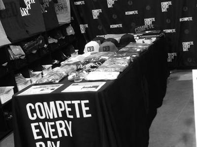 Compete Every Day Expo Booth