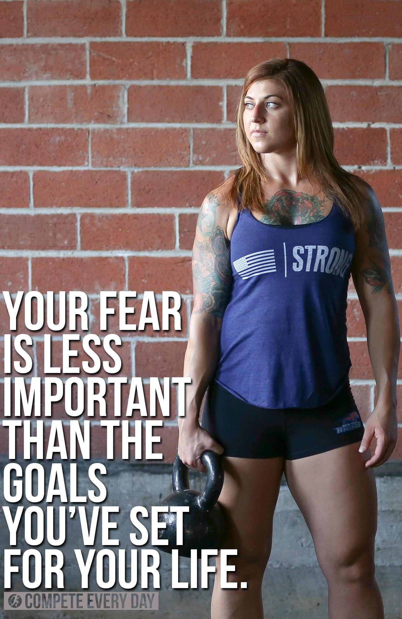 Fear is less important than your goals