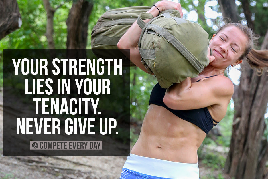 Your strength lies in your tenacity.